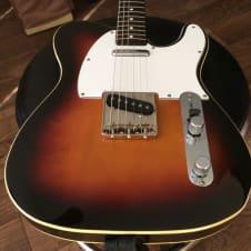 Fender '62 reissue telecaster cij 1985 3-tone Sunburst image