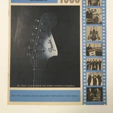 Fender Catalog  1964-65 Brochure Downbeat Case Candy Telecaster Stratocaster Jazzmaster Jaguar image