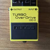 Boss OD-2 Turbo Overdrive 1991