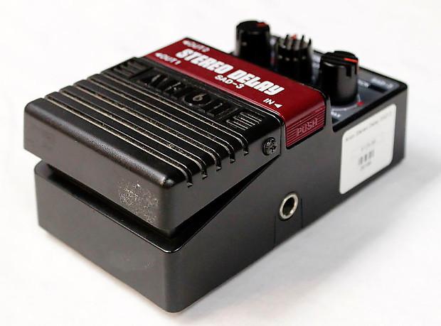 arion sad 3 stereo delay guitar effects pedal 26168 reverb. Black Bedroom Furniture Sets. Home Design Ideas