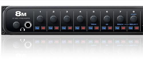 motu 8m 8 channel thunderbolt usb audio interface with preamps reverb. Black Bedroom Furniture Sets. Home Design Ideas