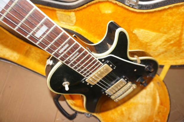 crestwood guitar vintage custom made in japan with original hard case reverb. Black Bedroom Furniture Sets. Home Design Ideas