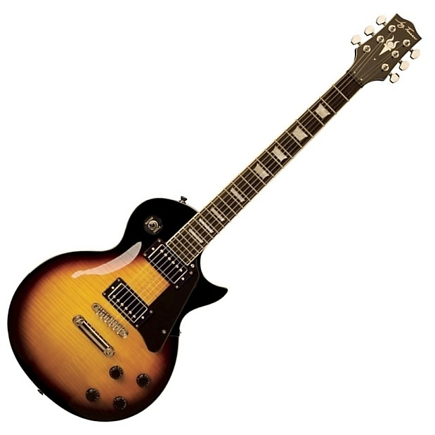 jay turser jt 200d les paul style electric guitar with extras reverb. Black Bedroom Furniture Sets. Home Design Ideas