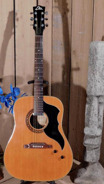Vintage 1965 Eko J 54 1 Jumbo Acoustic Electric Guitar