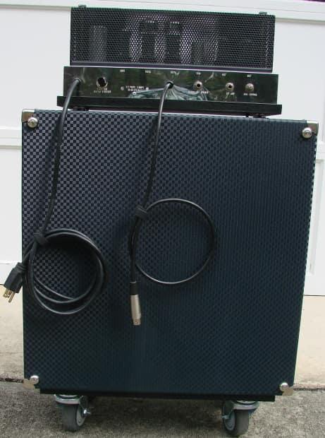 1967 Ampeg B18n Head On New B15 Cabinet W Jbl D140f Reverb