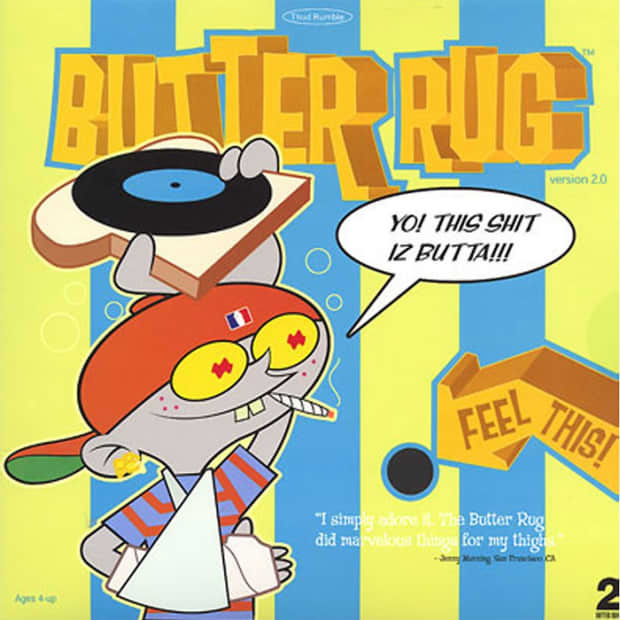 Thud Rumble Butter Rugs Black Slipmats Reverb