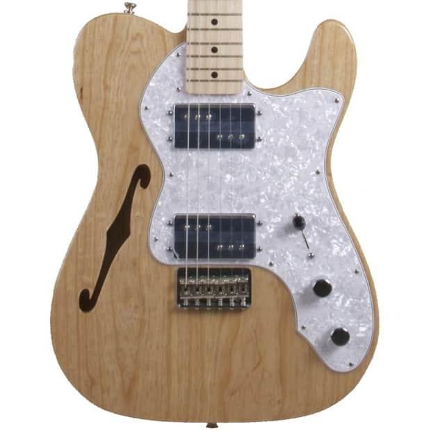 fender classic series 39 72 telecaster thinline 1972 natural reverb. Black Bedroom Furniture Sets. Home Design Ideas