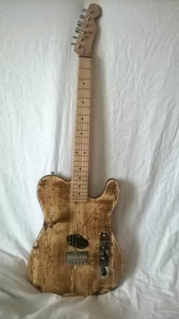 Sheraden Guitars Esquire Barncaster 2014 Natural Finish