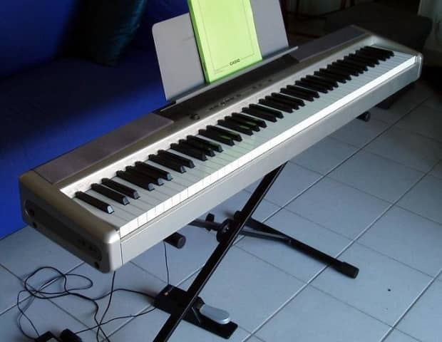 casio privia px 120 88 key digital keyboard reverb. Black Bedroom Furniture Sets. Home Design Ideas