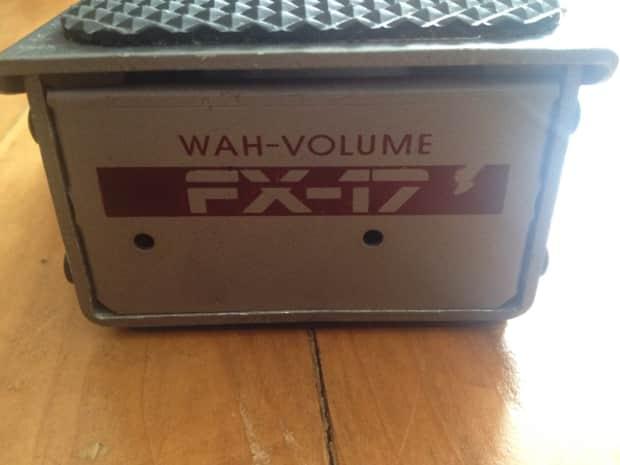 dod fx17 wah volume controled voltage expression cv pedal