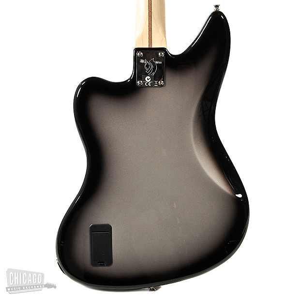 Jaguar Of Troy >> Fender Artist Series Troy Sanders Jaguar Bass Silverburst | Reverb