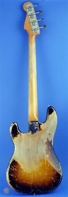 fender precision bass 1959 sunburst price guide reverb price history chart