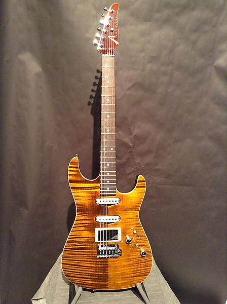 tom anderson guitarworks drop top tiger eye electric guitar reverb. Black Bedroom Furniture Sets. Home Design Ideas