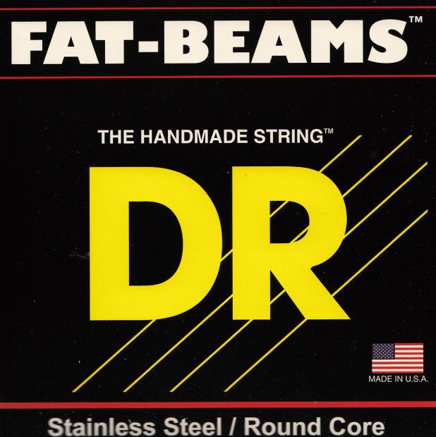 dr strings fat beams medium gauge 6 string electric bass strings reverb. Black Bedroom Furniture Sets. Home Design Ideas