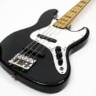 Fender Geddy Lee Signature Jazz Bass Black Made in Japan, upgraded bridge and hard case image