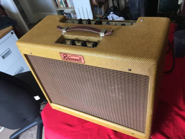 5e3 fender tweed deluxe clone guitar amp 15w rosewell reverb. Black Bedroom Furniture Sets. Home Design Ideas