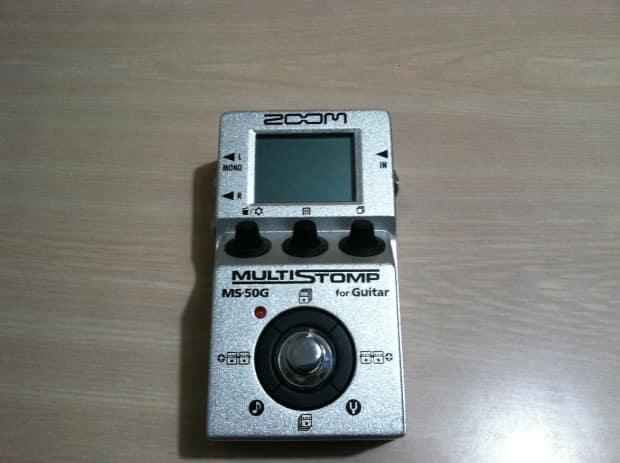 zoom ms 50g multi guitar effect pedal reverb. Black Bedroom Furniture Sets. Home Design Ideas