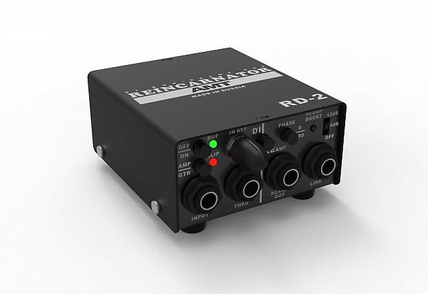 brand new amt electronics rd 2 di box re amp box reverb. Black Bedroom Furniture Sets. Home Design Ideas