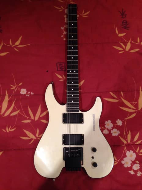 Steinberger Gm2s 1989 White Reverb