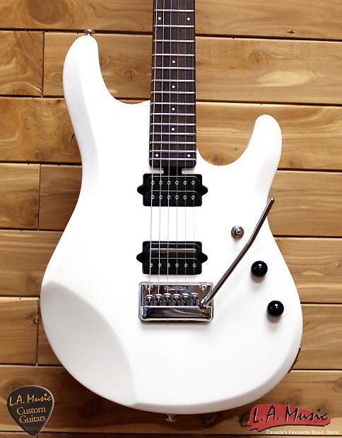 ernie ball music man jp6 white rosewood neck reverb. Black Bedroom Furniture Sets. Home Design Ideas