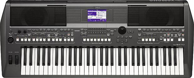 Yamaha psr s670 61 key arranger workstation reverb for Yamaha psr s770 61 key arranger workstation