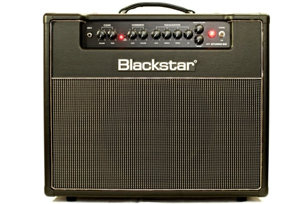 blackstar ht club studio 20 1x12 combo amp in black with reverb. Black Bedroom Furniture Sets. Home Design Ideas