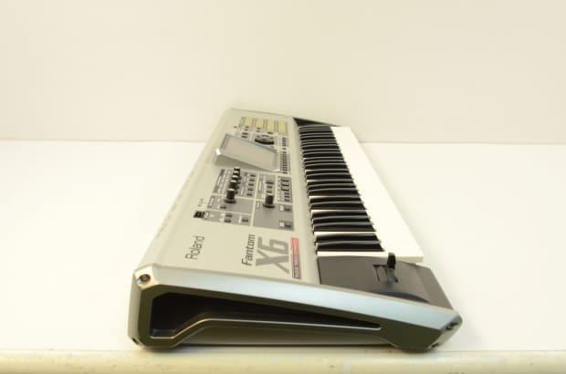 roland fantom x6 workstation 61 key keyboard x 6 reverb. Black Bedroom Furniture Sets. Home Design Ideas
