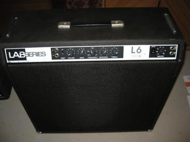 gibson lab series l6 guitar amp 1979 black reverb. Black Bedroom Furniture Sets. Home Design Ideas