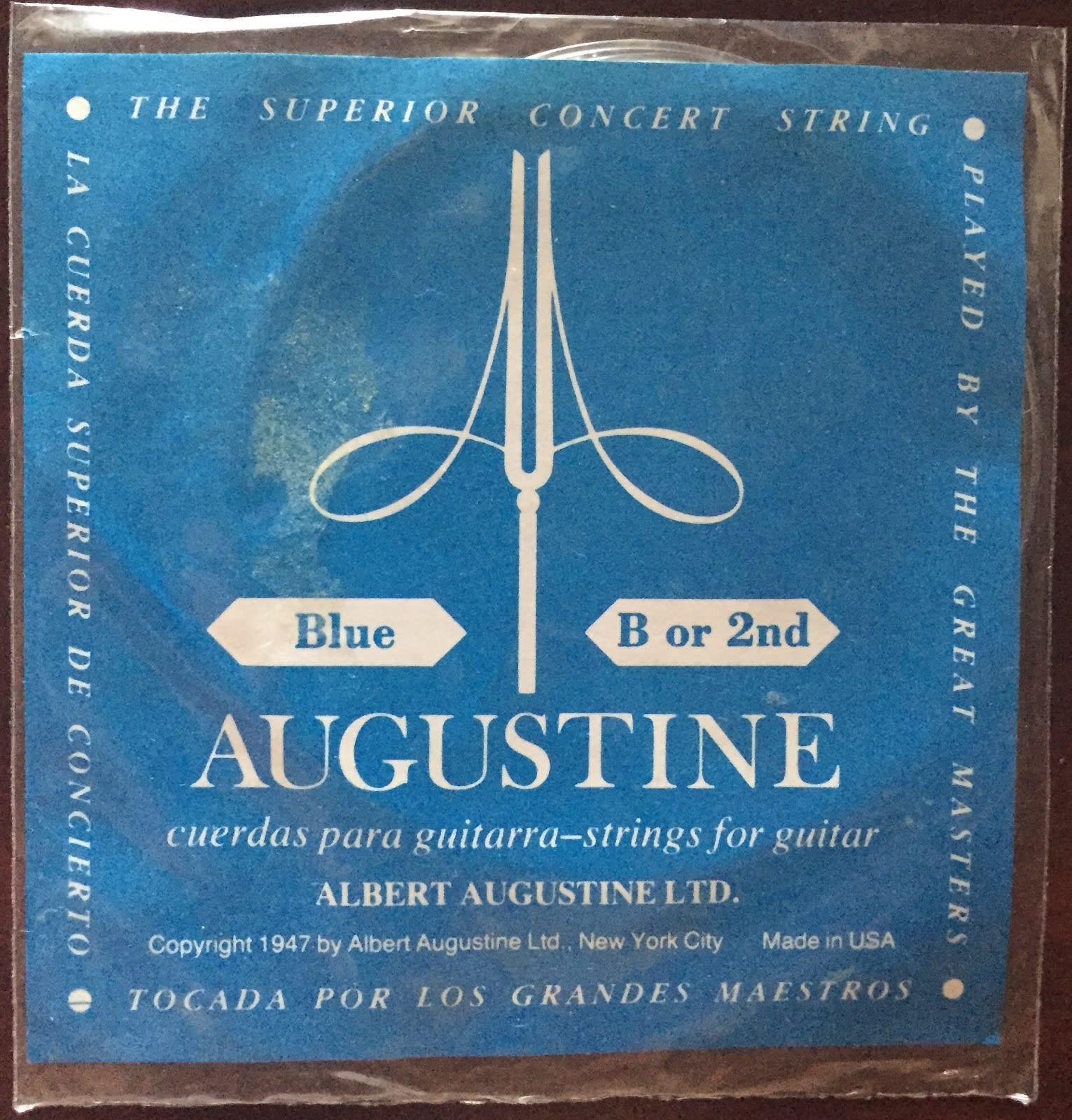 Augustine Blue - 2nd string (B)