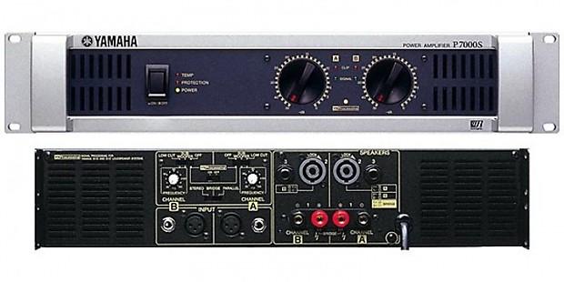 yamaha p7000s dual channel power amp reverb. Black Bedroom Furniture Sets. Home Design Ideas