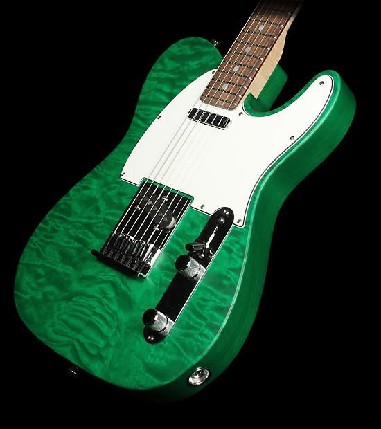 used fender custom shop custom deluxe telecaster emerald reverb. Black Bedroom Furniture Sets. Home Design Ideas