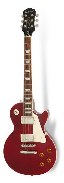 Epiphone Les Paul Plus Top PRO Electric Guitar Wine Red Finish image