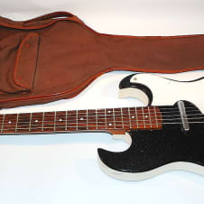Silvertone 1442 1960's Black image