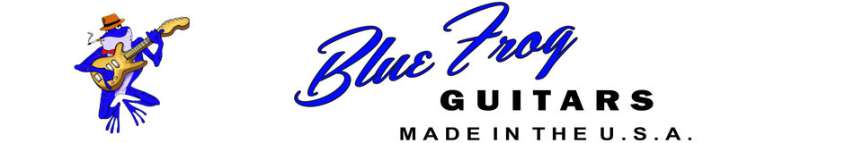 Blue Frog Guitars