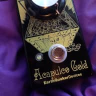EarthQuaker Devices Acapulco Gold Distortion 2016 Graphic