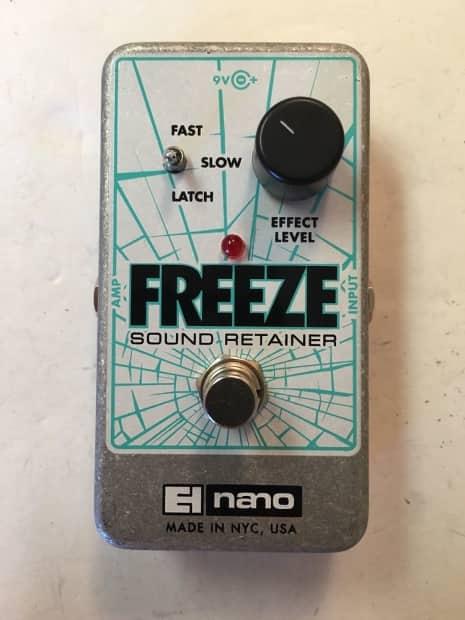 electro harmonix freeze sound retainer sustainer nano guitar reverb. Black Bedroom Furniture Sets. Home Design Ideas