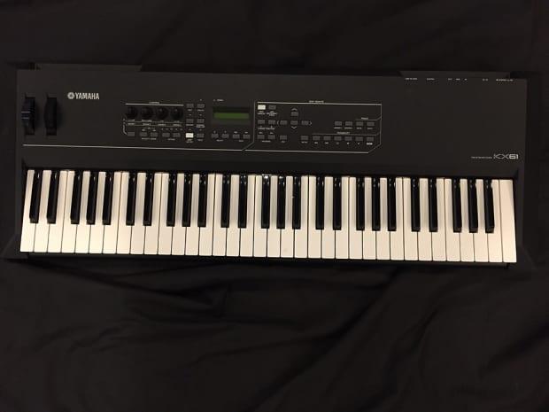 Yamaha kx 61 keyboard controller reverb for Yamaha midi controller keyboard