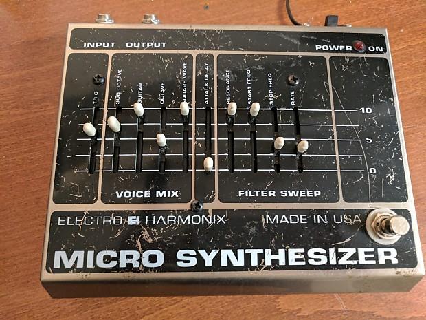 electro harmonix ehx big box micro synthesizer reverb. Black Bedroom Furniture Sets. Home Design Ideas