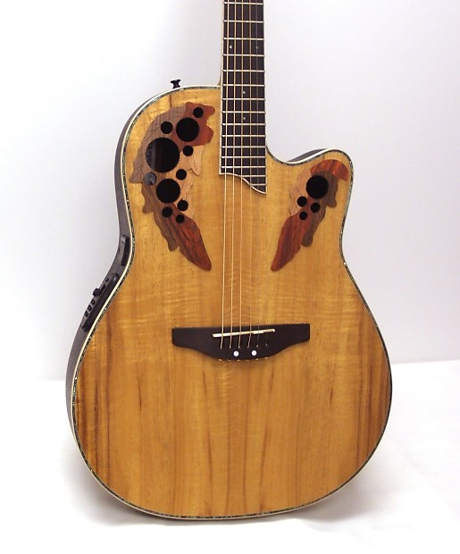 Ovation Celebrity CC44 Acoustic-Electric Guitar | Musician ...