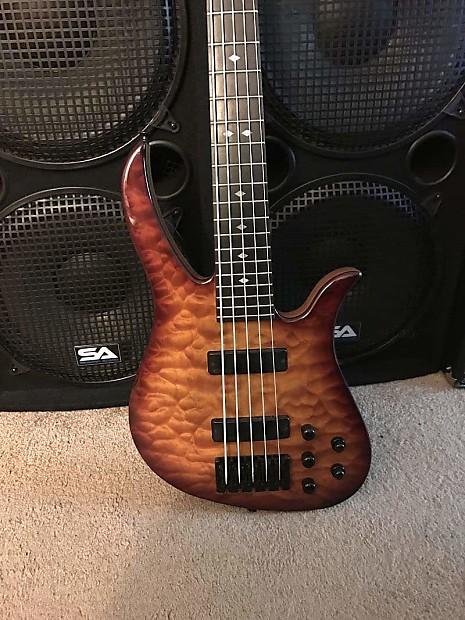 carvin b25p brian bromberg signature 5 string bass guitar reverb. Black Bedroom Furniture Sets. Home Design Ideas