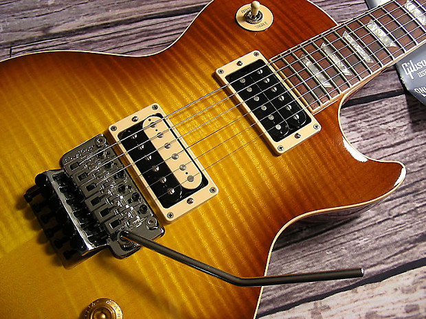 2008 gibson custom shop les paul axcess with floyd rose reverb. Black Bedroom Furniture Sets. Home Design Ideas