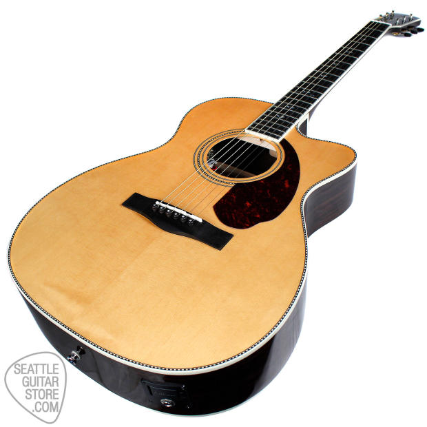 Paramount Auto Sales >> Fender Paramount Deluxe Triple-O Natural | Reverb