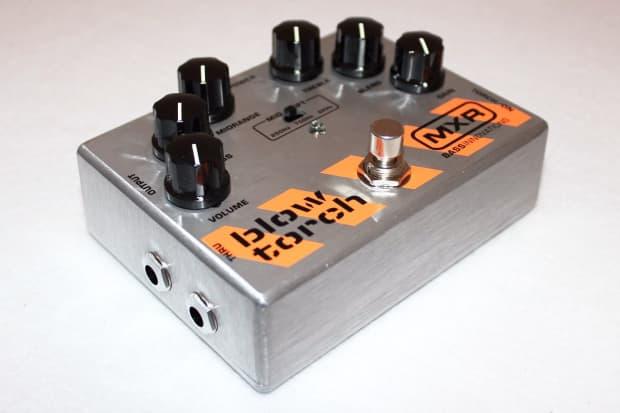 mxr m 181 bass blowtorch overdrive distortion guitar effects reverb. Black Bedroom Furniture Sets. Home Design Ideas