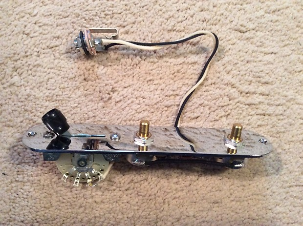 telecaster humbucker complete wiring harness pre assembled reverb