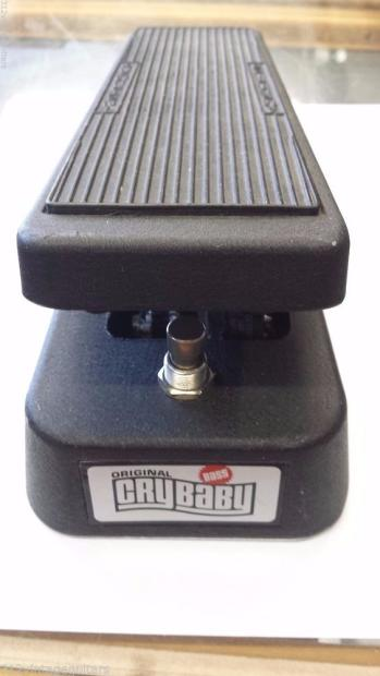 jim dunlop gcb 100 bass wah wah cry baby electric guitar effects pedal cry baby reverb. Black Bedroom Furniture Sets. Home Design Ideas
