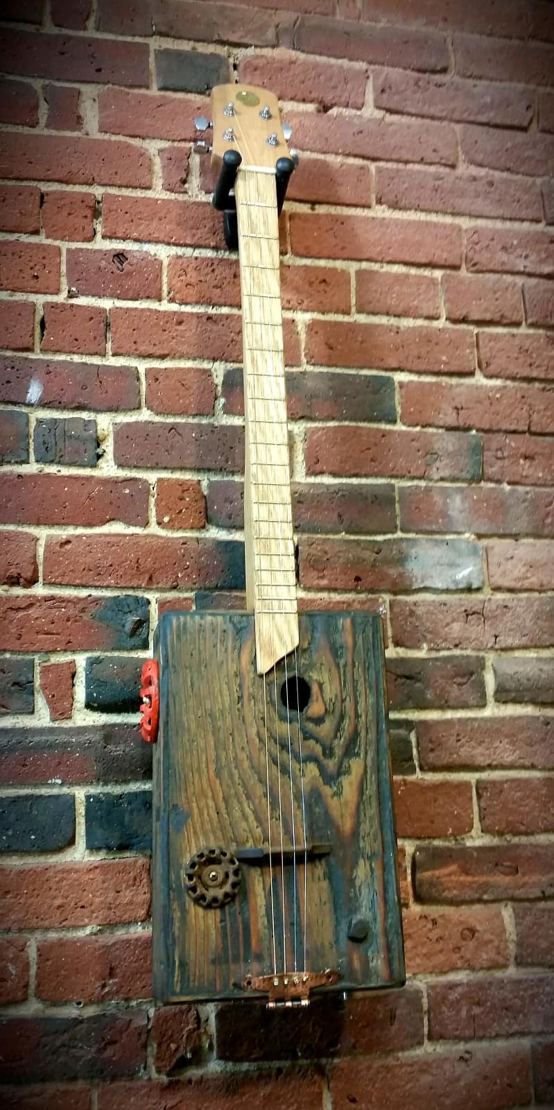 The barnstormer custom 4 string guitar featuring for Buy old barn wood
