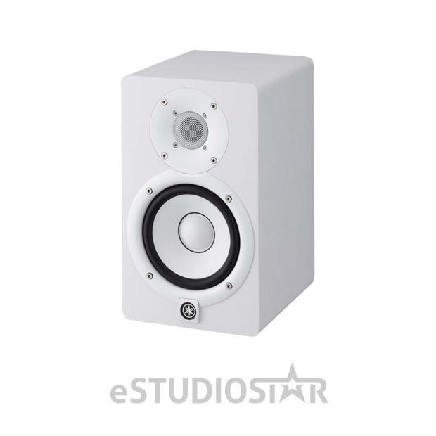 yamaha hs5 w 5 inch powered studio monitor white reverb