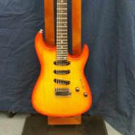 Fender Showmaster SSS Cherry Burst for sale