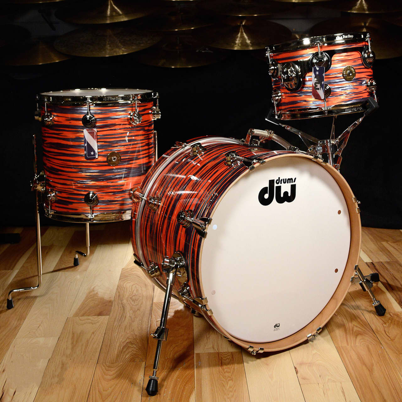 DW Collectors Series Exotic Finish 5-Piece in Waterfall