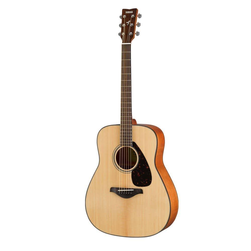 Yamaha fg800m matte finish folk dreadnought acoustic for Where are yamaha guitars made